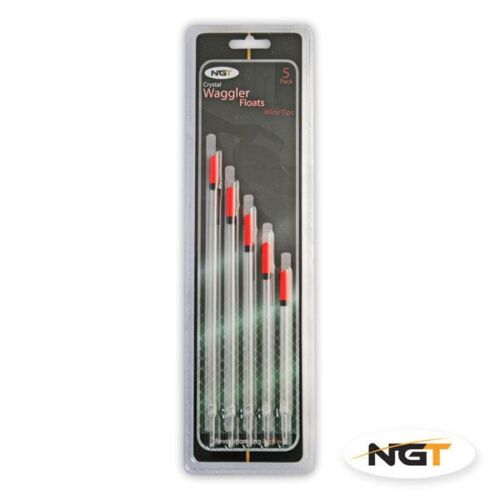 5 x NGT Fine Crystal Waggler Fishing Floats
