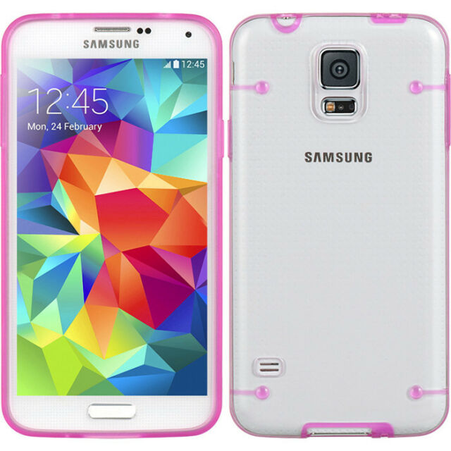 Luxury Crystal Clear Ultra-thin Case Cover Skin For Samsung Galaxy S5 SV i9600