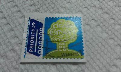 Hartig Nederland Stamp, Priority, 2011, Wereld