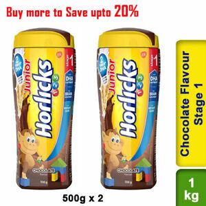 Junior Horlicks Chocolate Flavour Stage 1 Health And Nutrition Drink 1kg Pet Jar Ebay