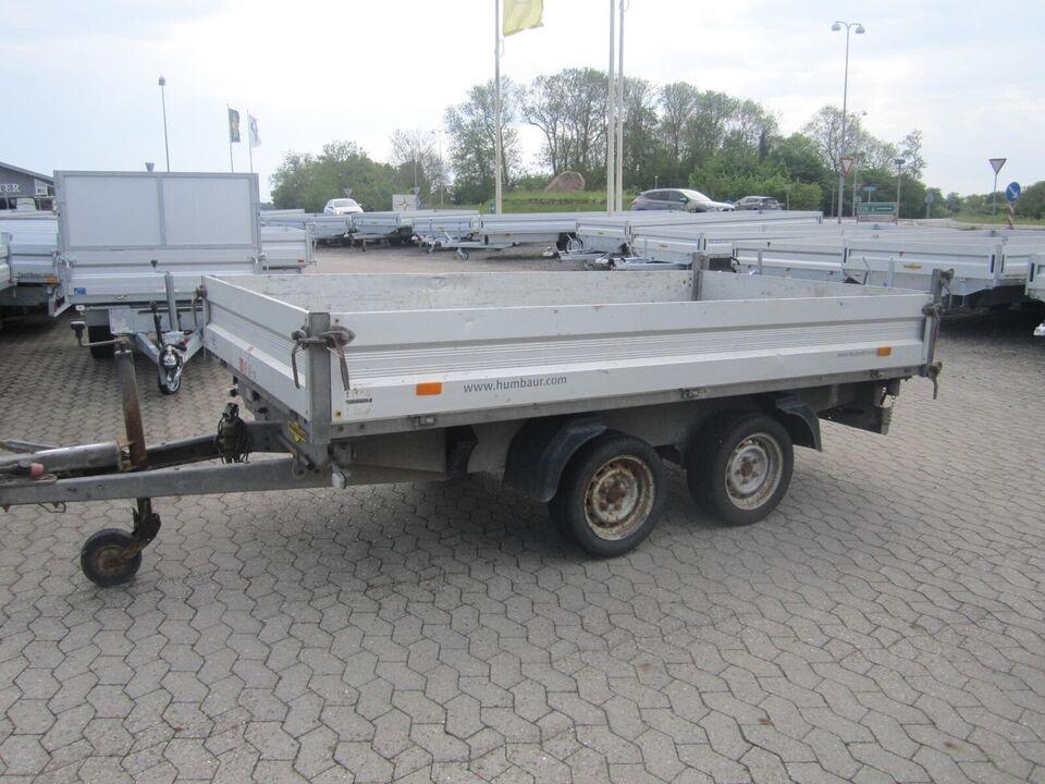 Trailer Humbaur HTK 3000.31, lastevne (kg): Humbaur HTK