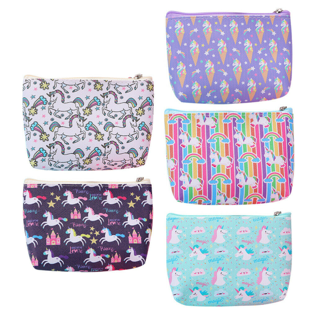 5pcs Cartoon Storage Bags Design Coin Purses for Gift