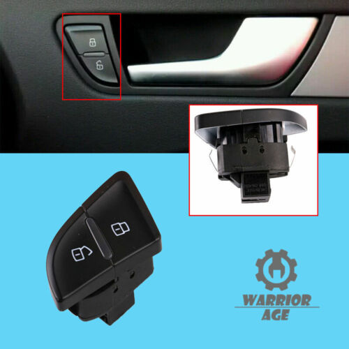 For Audi A4 B8 Allroad A5 S5 RS4  Front Right Central Door Lock Safety Switch