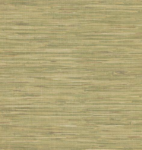 Brewster 414-44140 Faraji Sage Faux Grasscloth Wallpaper MAKE ME OFFER