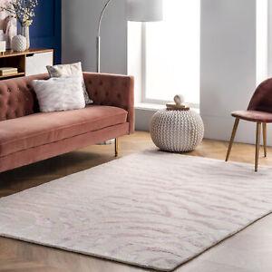 nuLOOM-Hand-Tufted-Plush-Zebra-Area-Rug-in-Pink