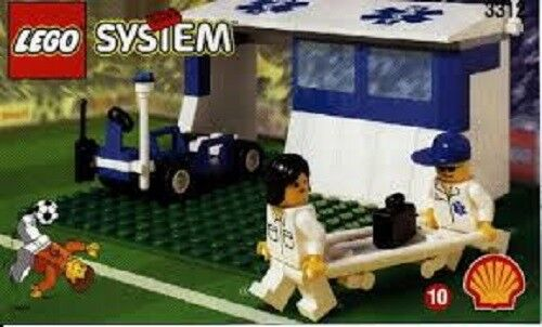Lego Set 3312 Sport- Fußball Sanitäter Arzt Station Gehäuse
