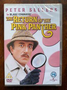 Return Of The Panthère Rose DVD 1975 Peter Sellers Comédie Film Classique Bnib
