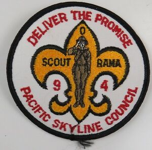 Pacific-Skyline-Council-1994-Deliver-The-Promise-Scout-O-Rama-H2707