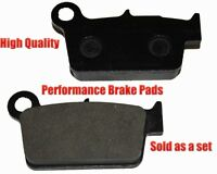 Yamaha Wr250x Rear Brake Pads Racing Pro Factory Braking 2008-2011 on sale