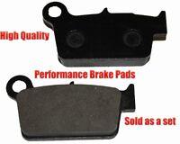 Yamaha Wr250x Rear Brake Pads Racing Pro Factory Braking 2008-2011 on sale