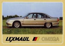 Prospekt Lexmaul Opel Omega 1987 Autoprospekt Broschüre Auto Tuning brochure Pkw
