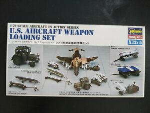 U-S-Aircraft-Weapon-Loading-Set-Nr-5-Hasegawa-Scale-1-72-Kit-X-72-5