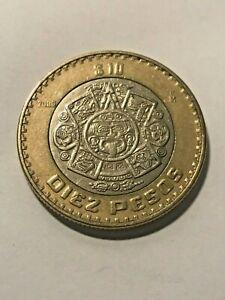 2006-Mo Mexico Bi-Metallic 10 Pesos XF+ #17769