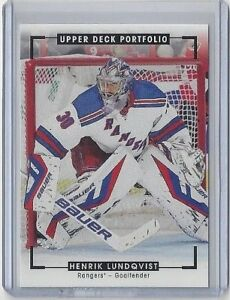2015-16-HENRIK-LUNDQVIST-UPPER-DECK-PORTFOLIO-COLOR-ART-PHOTO-276