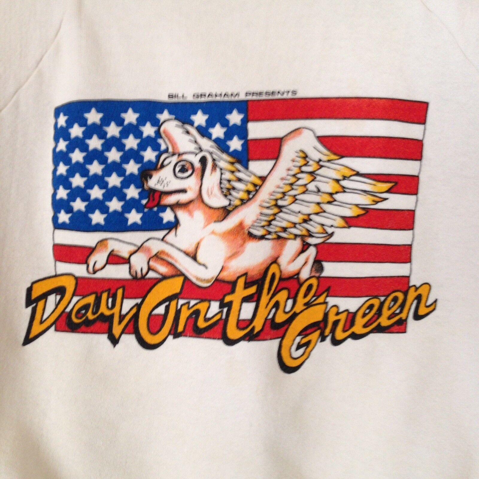 Rare 1985  Day on The Grün Staff Sweatshirt Bill Graham Presents Med