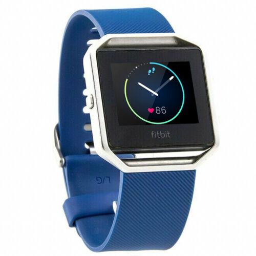 Fitbit Blaze FB502 Smart Fitness Activity Tracker and HR Tracker Blue