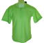 Bnwt-Authentic-Mens-Tribute-Crew-Neck-T-Shirt-3-button-Front-Green-New-With-Tags thumbnail 1