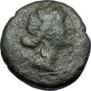 AMPHIPOLIS-in-MACEDONIA-1stCenBC-RARE-R1-Ancient-Greek-Coin-ARTEMIS-BULL-i68807