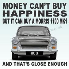 Morris 1100 Mk1 ADO16  Art illustration Drinks Coaster **Morris**