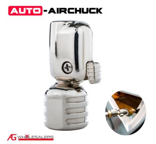 Auto Airchuck Tyre Chuck Tire Air Replacement or Upgrade Straight 160Psi