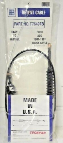 Ford AOD FIOD transmission kickdown cable passing gear cable for TRUCKS t76497