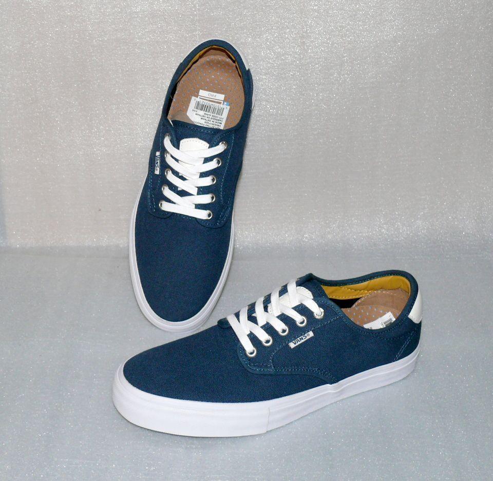 Vans Chima Ferguson Pro Canvas Herren Schuhe Freizeit Sneaker 42 US9 SJ044 Navy