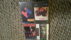 Heart-4-Cassette-Lot-Bad-Animals-Self-Titled-Brigade-Dreamboat-Annie