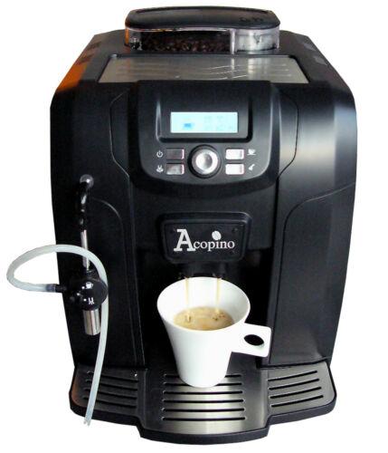 1 von 1 - Acopino Ravenna Kaffeevollautomat Espressomaschine in Schwarz