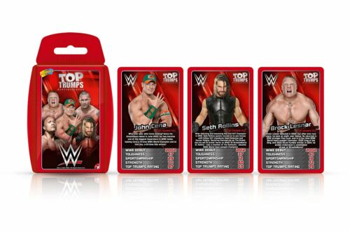 WWE Wrestling Top Trumps Brand New
