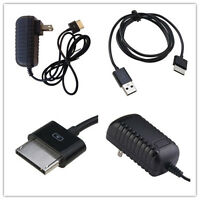 Ac Wall Charger+usb Data Sync Cable For Asus Vivotab Rt Tf600 Tf600t Tf810c