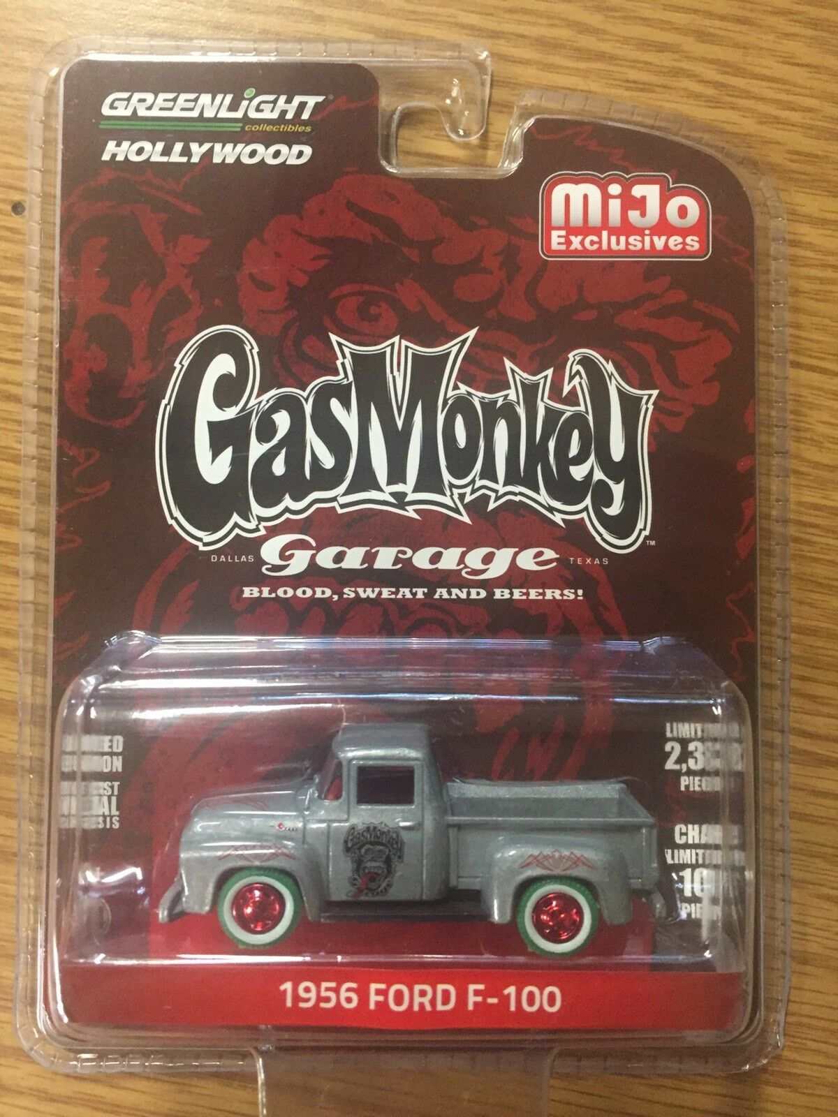 vertlight Gas Monkey Garage 1956 Ford F100 only 100 made CHASE Car
