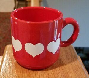 Waechtersbach-HEART-2-3-4-034-Demitasse-Cups-Mugs-Set-of-2