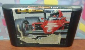 Super-Monaco-GP-Racing-Sega-Genesis-Rare-Game-Tested-Works-Authentic-Original