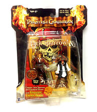"Disney Pirates of the Caribbean JACK SPARROW  & ELIAZBETH SWANN 3.75"" figure set"