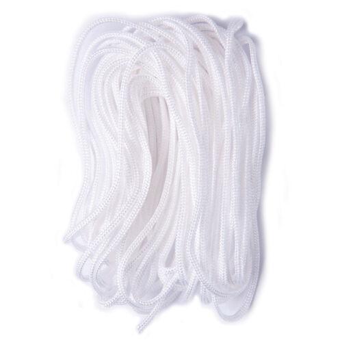 3x Nylon Thread 3 PKs of 5mx2mm White Sewing Craft Tool Hobby Art UK