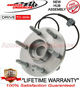 LIFETIME Wheel Bearing and Hub Assembly 515096 for 07-14 Chevy GM 6 LUG 4x4