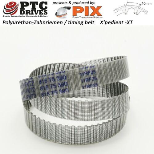 25-T10-1080 PU+Stahlzugstrang Zahnriemen PIX X/'pedient 108 Zähne Polyureth.