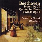 Quintett op.16/Septett op.20 von Boskovsky,Mitglieder des Wiener Oktets (2014)