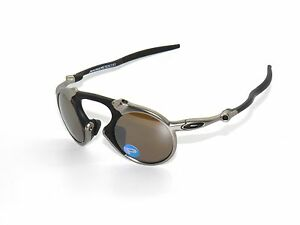 ec3e64aadeb Image is loading CLEARANCE-OAKLEY-MADMAN-6019-03-PLASMA-TUNGSTEN-IRIDIUM-