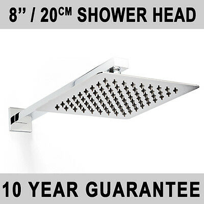 6'', 8'', 12'', 16'',SQUARE, ROUND STAINLESS STEEL CHROME ULTRA THIN SHOWER HEAD