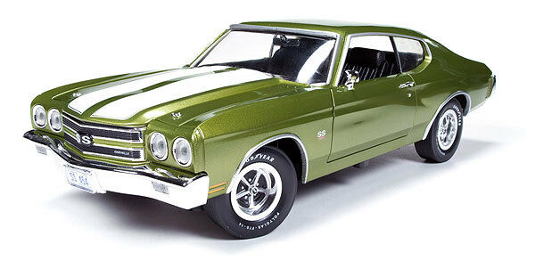 1970 Chevrolet Chevelle CITRUS verde 1:18 Auto World 1028