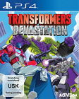 Transformers: Devastation (Sony PlayStation 4, 2015, DVD-Box)