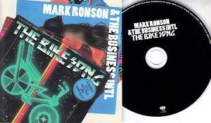 MARK-RONSON-amp-THE-BUSINESS-INTL-The-Bike-Song-2010-UK-3-trk-promo-test-CD