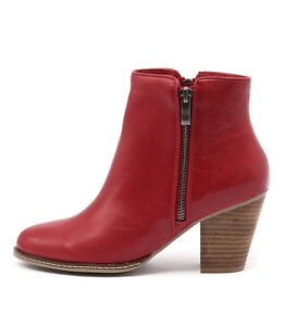 New-I-Love-Billy-Capitol-Red-Womens-Shoes-Casual-Boots-Ankle