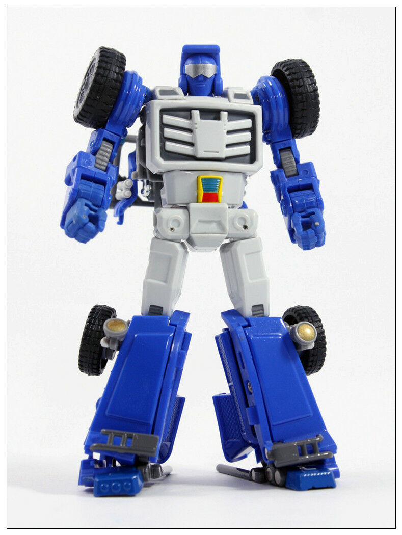 Ny transformers leksak X -Transbots MM -VIII Arkose G1 Beachcomber G1 Metal Ver kommer