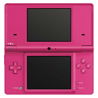 Nintendo DSi Pink Handheld System Very Good Condition