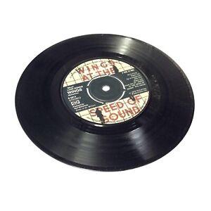 Wings-039-Silly-Love-Songs-039-UK-Press-Vinyl-7-034-Single-VG-VG-Nice-Clean-Copy