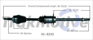 2// 100/% New Front CV Shafts Axles L /& R for Nissan Maxima 3.5L 07-08