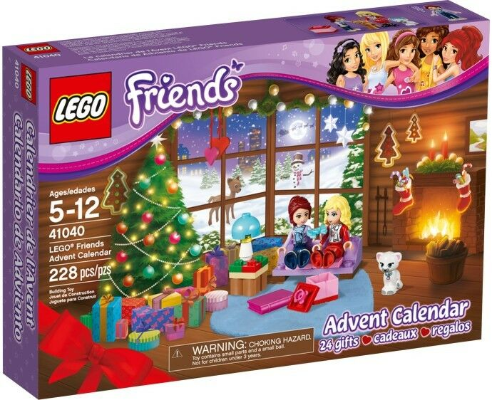 BNIB LEGO 41040 FRIENDS Advent Calendar 2014 - RARE