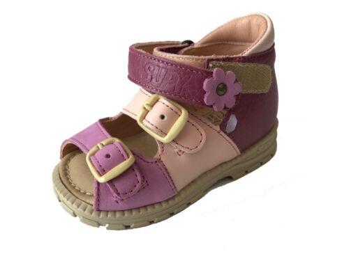 Supykids SOMA Purple-Pink Girls Child Kids Sandals Shoes Supination UK
